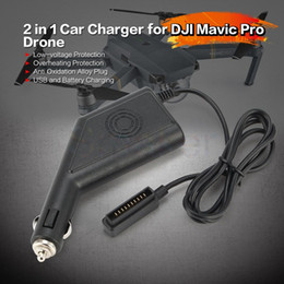 $enCountryForm.capitalKeyWord Australia - 2-in-1 Car Charger with USB port for Battery-powered Car Charger Adapter for DJI Mavic Pro Accessories