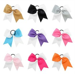$enCountryForm.capitalKeyWord Australia - 8 Inch Children Bows Forked Tail Ribbon Hair Bands For Girls Kids Double Color Candy Cute Hair Clips Bows Hair Accessory Gifts12 Colors