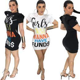 6354da419 2018 carta de verão imprimir vestido de manga curta preto branco mulheres  bohemian moda sexy casual bandage boate mini vestidos