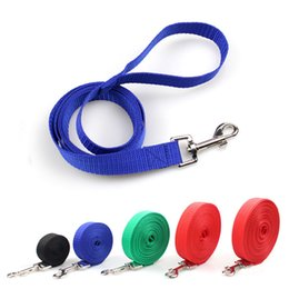 1.8m Multi-function Pet Leash Pet Nylon Double Head Training Rope Dog Two Diving Handle Wear Traction Rope Dog Collars & Leads