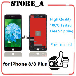 $enCountryForm.capitalKeyWord NZ - High Quality for iPhone 8 8 Plus LCD Display Touch Screen Digitizer Full Assembly Replacement Repair Parts Black White Factory