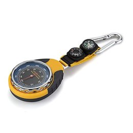 $enCountryForm.capitalKeyWord UK - 4 in 1 Compass Barometer Thermometer With Carabiner Camping Hiking