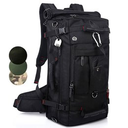 $enCountryForm.capitalKeyWord Australia - Best Quality 40L Tactical Backpack Waterproof Hiking Camping Backpack Travel Rucksack Outdoor Sports Climbing Bag DHL Shipping