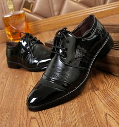 7ef6540da916 2019 Brand Men s Dress Lace-up Oxford Business Formal Shoes Man Wedding  Leather Office Simple Style Quality Men Shoes S634