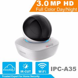 Dahua 3mp UK - IP Camera Indoor DaHua WiFi Camera IPC-A35 OEM 3MP Wireless IP 16x Wi-Fi Network PT Built-in Speaker & SD