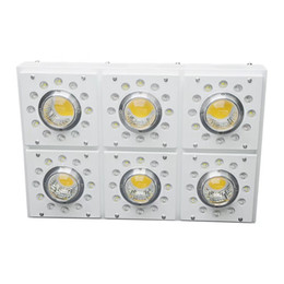plant grow light lamps UK - Full Spectrum 224W 302W 452W COB LED Plant Grow Light 2 Channel Dimming Indoor Greenhouse Hydroponics Tent Vegetable Bloom Grow Lamp