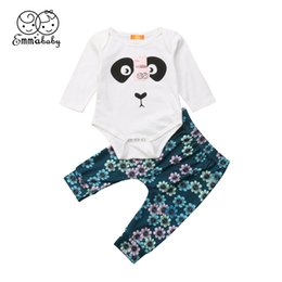 Casual Toddler Baby Boy Girl Panda Long Sleeve Tops Pants Outfits Set Clothes Uk For Fast Shipping Outfits & Sets