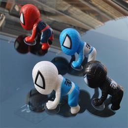 Personalized Dolls Australia - Chuck Spider - Man cartoon doll QEdition Chuck Spider - Man Chuck car accessories personalized creative car supplies