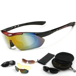 Polarized cycling sPorts sunglasses online shopping - Safety Polarized Cycling Glasses Ultralight Explosion Proof Men And Women Sunglasses Anti Ultraviolet Sports Goggles New Arrival jy B