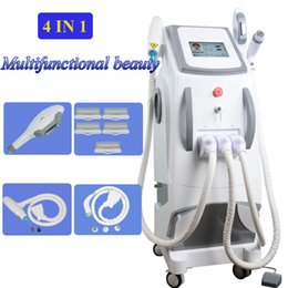 Switch diode online shopping - ipl shr hair removal machine Most Popular laer hair removal machine SHR OPT machine laser nd yag q switched