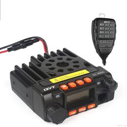 Radio Vhf Uhf Car NZ - Wholesale-MINI Car Mobile Radio KT-8900 25W CB Radio Dual Band 136-174MHz & 400-480MHz VHF UHF two-way Walkie Talkie Transceiver