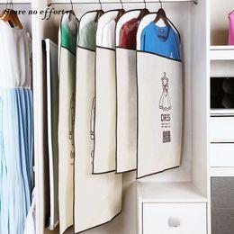 Types Set Clothes Australia - Garment Bag Seyahat Organizer Storage Bags Clothes Large Garment Dust Cover Wardrobe Storage Bag for Clothes Organizer