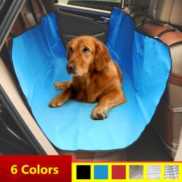 3 Colors 1pc Dog Cat Seat Cover Pet Seat Cover For Cars 100% Waterproof Trucks Hammock Convertible Accessories And Suv