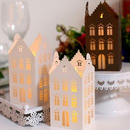 SmalleSt Screen online shopping - Laser cut hollow Lamp Screen For Party Festival and so on Paper lamp chimney Beautiful light The Lampshade for LED small tea light