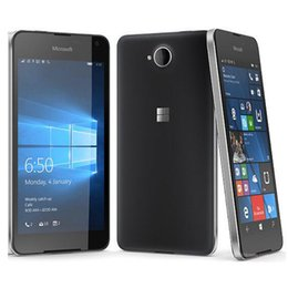 Chinese  Refurbished Original Nokia Microsoft Lumia 650 Quad Core 5.0 inch 1GB RAM 16GB ROM 8MP Camera 4G LTE Smart Cell Phone Free Post 1pcs manufacturers