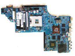 hp dv7 laptops 2019 - 665989-001 for hp DV7T DV7-6000 laptop motherboard HM65 ddr3 HD 6770M Free Shipping 100% test ok cheap hp dv7 laptops