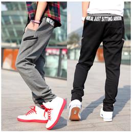 $enCountryForm.capitalKeyWord NZ - Winter Warm Thick Sweatpants Men's Track Pants Elastic Casual Baggy Lined Tracksuit Trousers Jogger Harem Pants Men Plus Size