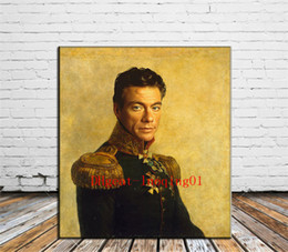 Wholesale Jean Claude Van Damme Canvas Pieces Home Decor HD Printed Modern Art Painting on Canvas Unframed Framed
