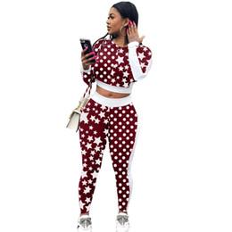 88ba6136e3f Fashion trend sexy jumpsuit 2 pieces autumn star print overalls for women  ladies slim romper combinaison femme