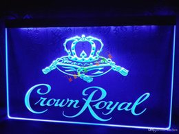 Chinese  LE104-b Crown Royal Derby Whiskey NR beer Bar Light Sign home decor shop crafts led sign manufacturers
