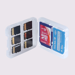 $enCountryForm.capitalKeyWord UK - New 8 in 1 Plastic Case Box For TF Micro SD Memory Card for SDHC TF MS Protector Holder High Quality LX0285