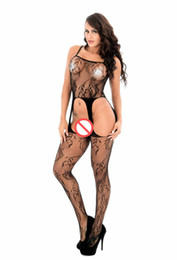 $enCountryForm.capitalKeyWord Canada - Europe and the United States erotic underwear sexy strap mesh stockings Hollow Open File Black Big code foreign Trade