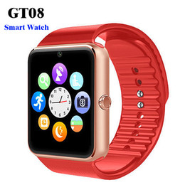 $enCountryForm.capitalKeyWord Australia - GT08 Bluetooth Smart Watch with SIM Card Slot and TF Health Watchs for Smartphone Bracelet Smartwatch With Retail Box Package