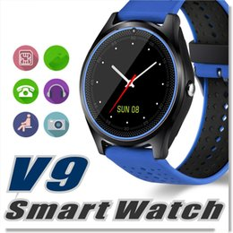 $enCountryForm.capitalKeyWord Australia - V9 smart watch upgrade V8 smartwatches SIM Intelligent mobile phone watch With Camera can record the sleep state Newest Smart watch