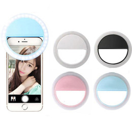 $enCountryForm.capitalKeyWord Canada - LED Selfie Phone Light Rechargable Portable Adjustable Brightness LED with Battery Enhancing Photography Efficient for Camera in Retail Box