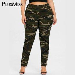 945495ad12118 PlusMiss Plus Size XXXL XXL Sexy Lace Mesh Camouflage Leggings Workout  Fitness Skinny Leggins Women Big Pants Legins Jeggings S18101506