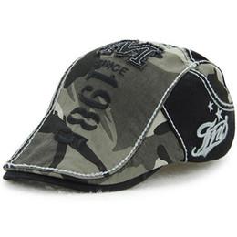 Cotton Flat Cap Duckbill Hat Newsboy Ivy Cabbie Drving Hat Hunting Golf Men  Women Adjustable Gatsby Fashion Camouflage 1985 Embroidery 12490 b1685c41a25b