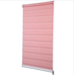 $enCountryForm.capitalKeyWord Australia - Punch Free Custom Cut to Size W 29.5 x H 59 Inch Horizontal Window Shade Blind Zebra Dual Roller Blinds Curtain
