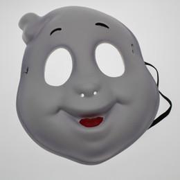 $enCountryForm.capitalKeyWord NZ - Halloween party dress stage performance festival mask One ear white ghost birthday party mask masquerade EVA environmentally friendly