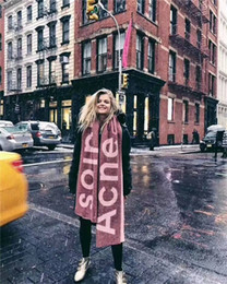 Discount autumn head scarf - Famous Brand Unisex Scarves Fashion Luxury Men Women Shawl Autumn Winter Outdoor Head Warmer Scarf