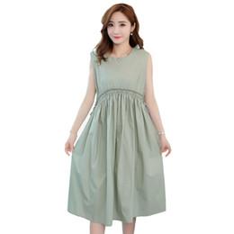 e8d822208a6a Vestiti incinte coreane online-Vestiti di maternità di estate del vestito  di maternità di Ruching