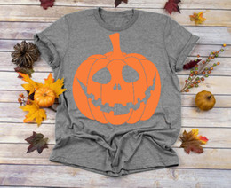 Wholesale pumpkin costume women for sale – halloween Women s Tee Pumpkin Halloween Costume T shirt Funny Graphic Vintage Women Fashion Grunge Tumblr Tees Aesthetic Party Style Goth Vintage Tops