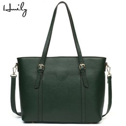 Cowskin Handbags Australia - HMILY Genuine Leather Women Handbags Candy Color Female Vintage Bag Retro Large Capacity Tote Bags Cowskin Women Messenger Bag