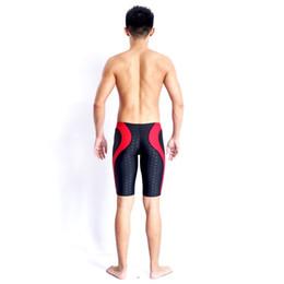52977f5ff9 Brand Men Swimsuit Competition Boys Swimwear Briefs Mens Swimming Trunks  For Bathing Swim Shorts Sharkskin Swimsuits Boxer