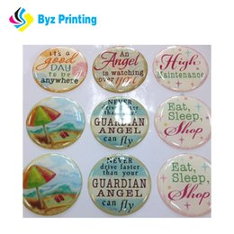 $enCountryForm.capitalKeyWord Canada - CMYK 4-color process printed or clear domed epoxy resin sticker from professional manufacture