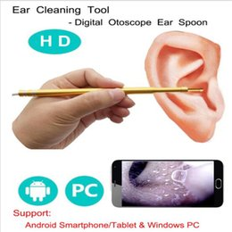 Tool Digital Canada - 3-in-1 Ear Cleaning tool Digital vision ear spoon ear wax removal tool Endoscope With Mini Camera free shipping