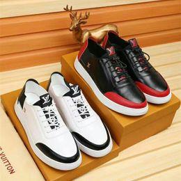 $enCountryForm.capitalKeyWord Australia - 2018 new casual shoes fashion sneakers High quality Italy famous italian designer brands luxury Genuine Leather scarpe Plus sizes 38-44