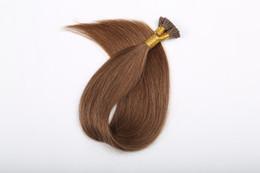 $enCountryForm.capitalKeyWord Australia - 0.8g s Remy Keratin U Tip Human Hair Extension With Hot Build European Fusion Hair 100s pack 80g Free Fast Shipping