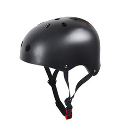 China Impact Resistance Skate Scooter Skateboard Stunt Bike Crash Helmet Protective Gear for Adult and Kids Size M (Black) cheap helmet skating suppliers