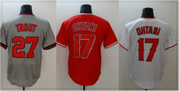 $enCountryForm.capitalKeyWord Canada - Los Angeles #17 Shohei Ohtani 27 Mike Trout Cheap Sports Shirts Mens Baseball Pro team Jerseys Sports Uniforms Stitched Embroidery For Sale