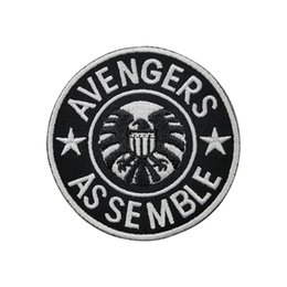 $enCountryForm.capitalKeyWord NZ - Avengers Patches Embroidery Patch Motorcycle Parch Biker Chopper Iron Sew on Applique Patch for Jacket
