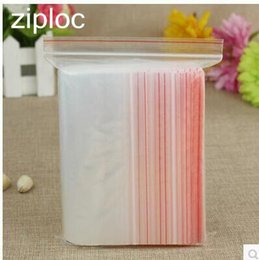 Wire Sealing Bags Australia - Thin thickness 8 wire Various sizes 100pcs lot Ziploc clear Self Sealing Plastic packaging Bags,ziplock poly bags zipper bags