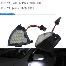 volkswagen jetta mirror UK - For Volkswagen GOLF5 Rearview Mirror LED Light Golf 5 Passat Turn Signal JETTA PASSAT Light