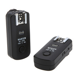 camera wireless triggers 2019 - Lightdow WS-603C 2.4Ghz 16 Channels Wireless Flash Trigger Synchronized Shutter Release Remote Control Transceiver for C