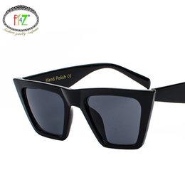 Discount shades for boys - F.J4Z Trending Cat Eye Oversize Men & Women Sunglasses For Eye Protection Fashion Cool Hundred-lap Outdoor Shades Glasse