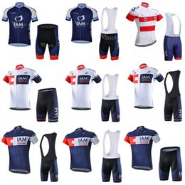 New! IAM cycling jersey 2018 ropa ciclismo hombre pro team bicycle clothing  quick dry short sleeve mtb bike shirts bib shorts set C2203 78d650c5c